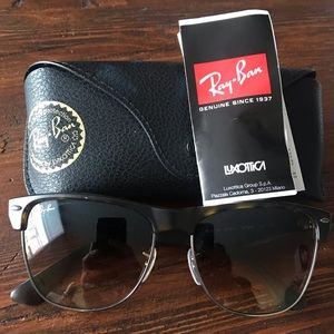NEW Ray Bans Club Master Oversized